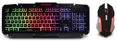Keyboard & Mouse Gaming Zeroground Metalic KB-1700GUMS Arai