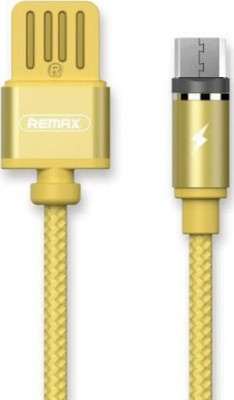 Cable Remax Magnetic Micro to USB 1m Gravity Gold