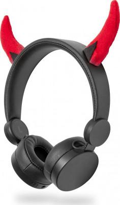 Παιδικά Headphones Nedis HPWD4000BK Danny Devil