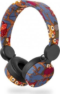 Παιδικά Headphones Nedis HPWD4101BK Owl Blue