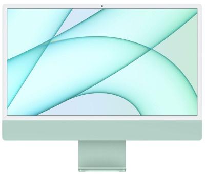 """iMac Apple 24"""" Retina M1-8Core/8GB/512GB MGPJ3GR/A Green"""