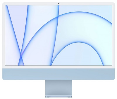 """iMac Apple 24"""" Retina M1-8Core/8GB/512GB MGPL3GR/A Blue"""