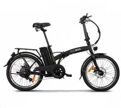 Ηλεκτρικό Ποδήλατο Egoboo Foldable e-Fold MX25 Black