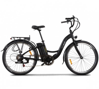 Ηλεκτρικό Ποδήλατο Egoboo E-City MB6 Black