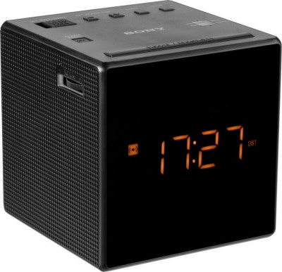 Radio Alarm Clock Sony ICFC1B Black