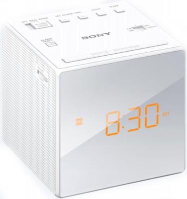 Radio Alarm Clock Sony ICFC1W White