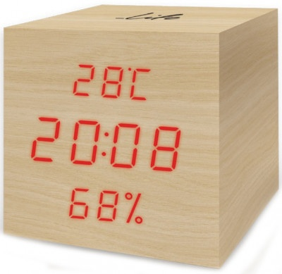 Thermometer - Hygrometer Life WES-105 Cube