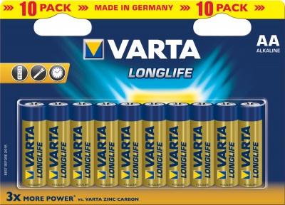Batteries Varta Longlife 4106 ΑΑ Alkaline (10 pcs)