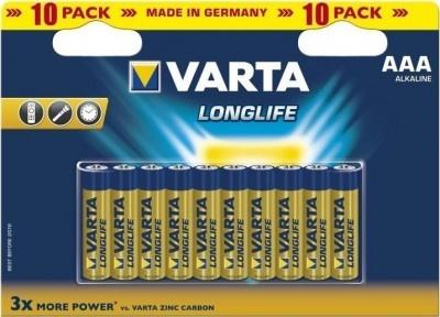 Batteries Varta Longlife 4103 ΑΑΑ Alkaline (10 pcs)
