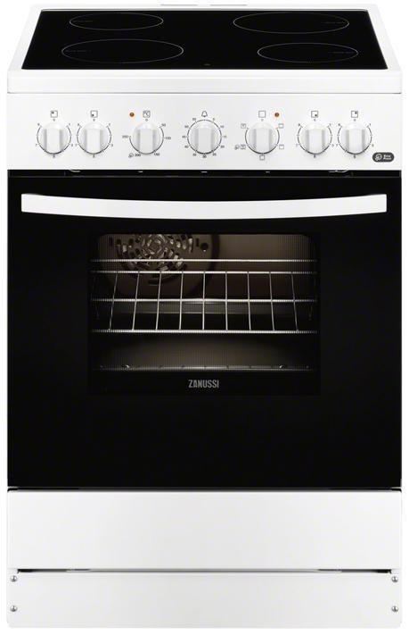Κουζίνα Κεραμική Zanussi ZCV65201WA