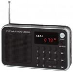 Ραδιόφωνο Ψηφιακό Akai DR002A-521 Black