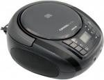 Φορητό Ράδιο CD Crystal Audio BMB1K Black