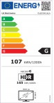 "TV LG OLED 55G16LA 55"" Smart 4K"