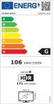 """TV LG OLED 55C14LB 55"""" Smart 4K"""