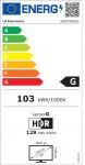 TV LG LED 55UP78006LB 55'' Smart 4K