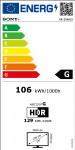 "TV Sony OLED XR55A80JAEP 55"" Smart 4K"
