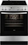 Κουζίνα Κεραμική Zanussi ZCV65020XA Inox