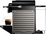 Καφετιέρα Nespresso Krups XN304TS Pixie Titan Μαύρη