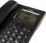 Τηλέφωνο Ενσύρματο Osio OSW-4710B με Οθόνη Μαύρο