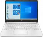 Laptop HP 14'' 14s-fq0003nv 3020e 4GB/128GB/W10